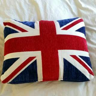 Union Jack Pillow Never Used