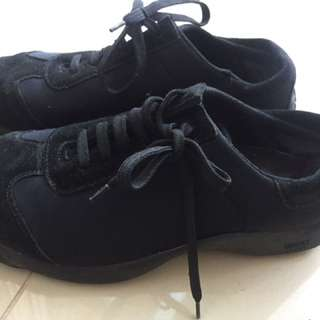 Genuine Versace Sport Black Runners Trainers Size 7