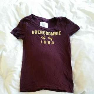 Abercrombie & Fitch Tshirt Top Size M