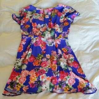 Asos Floral Dress Size M 10-12 #EOFYSALE