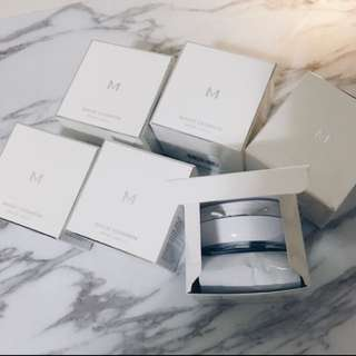 🚚 missha 銀盒氣墊粉餅