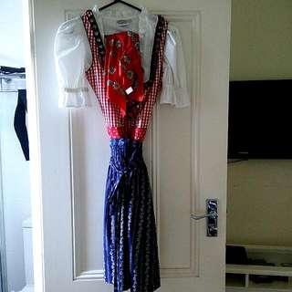 "Traditional bavarian ""Dirndl"" dress from Munich"