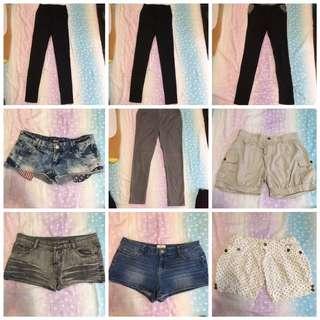 大特價‼️鉛筆褲 內搭褲 短褲 熱褲 燈籠褲