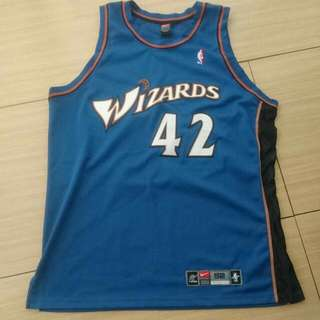Nike Jerry Stackhouse Authentic Jersey Wizards The Teammate Of Jordan 落埸版球衣