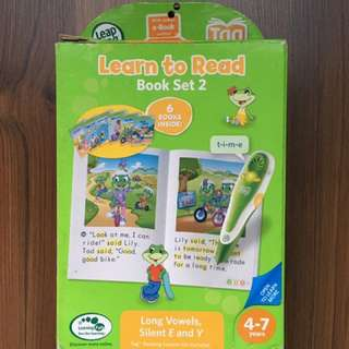 Leapfrog Learn To Read Book Set 2 (Long Vowels)