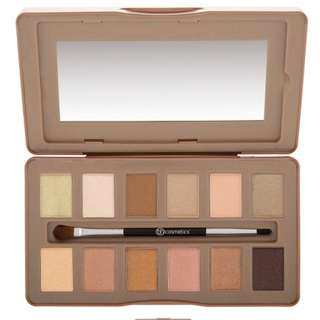 BH Cosmetic Nude Rose 12色眼影