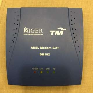 Riger DB102 Streamyx ADSL 2/2+ Modem