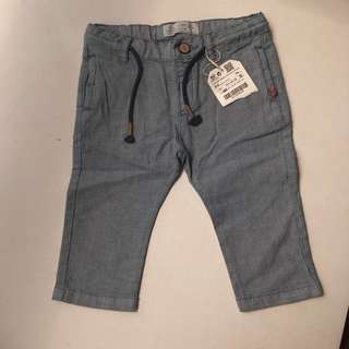 Zara Pant For Babies 6-9 Month.