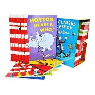Brand New Dr Seuss Story Book - 20 books New