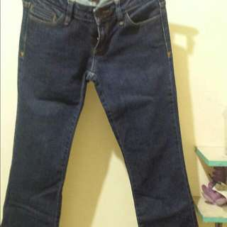 Guess Ultra Low Boot Cut Jeans Size 26