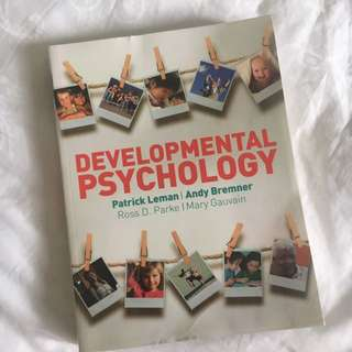Developmental Psychology (PL3234)
