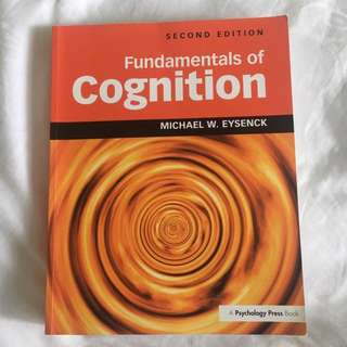 Fundamentals of Cognition (PL3233)