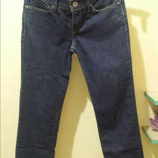 Levi's Demi Curve Straight Cut Jeans Size 24
