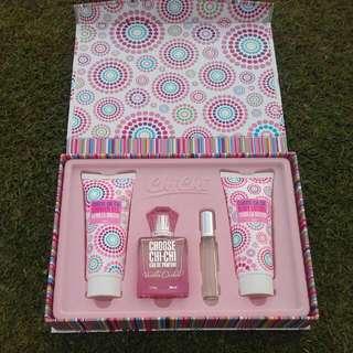 Chi Chi Vanilla Orchid Perfume Gift Set