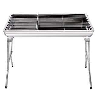 [Basic Package] Large Foldable BBQ Grill - for Outdoor charcoal Barbecue picnic
