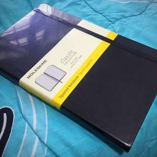 Moleskine Squared Notebook Free NM