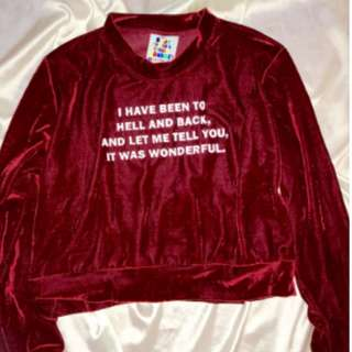 Looking to buy O-mighty Hell is wonderful jumper