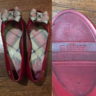 Melissa Red Shoes