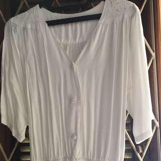 Long White Jumpsuit