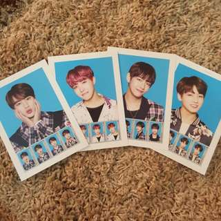 BTS THE WINGS TOUR Postage Stamp