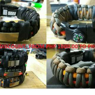 SALE!SALE! Paracord Survival Bracelet