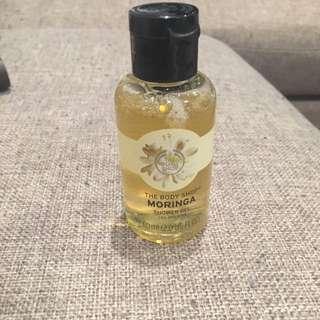 Body Shop (Moringa) Shower Gel Travel Size