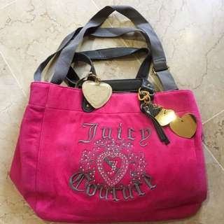 Juicy Couture Pink Bag ( NOT ORI)