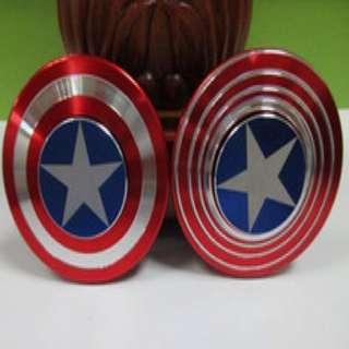 Hand Fidget Spinner Captain America's Shield