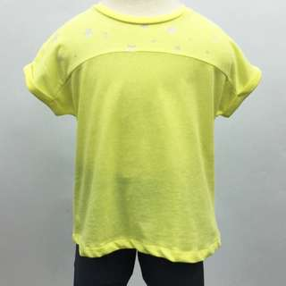 JUST IN!!! ZARA Girl Yellow Top Size 4Y