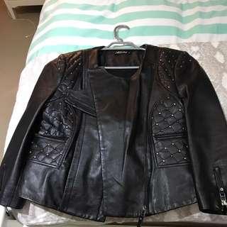 Gripp- leather Jacket