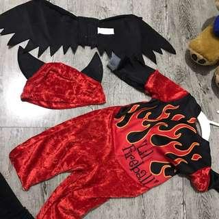 Holloween Costume Little Fireball