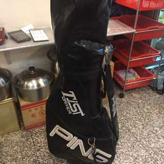 中古高爾夫鐵桿組ping G2加原廠球袋