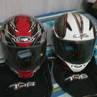 Flip Up Fullface Helmet