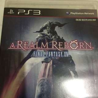 PS3 Game: Final Fantasy XIV