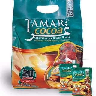 Tamar Cocoa Kurma Campur Coklat Serbuk Ekstrak