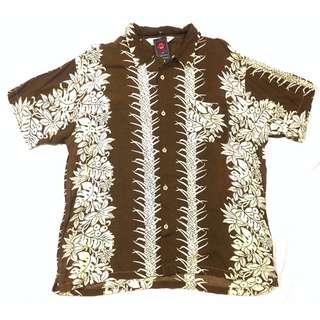 Kemeja Lengan Pendek Alasko Size XL Second import Murah