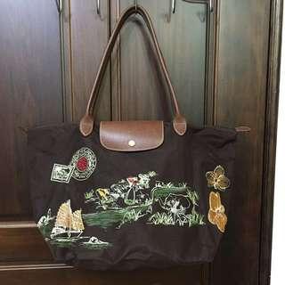Longchamp 扶桑花包 長M