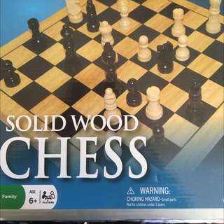 Brand New Solid Chess Board