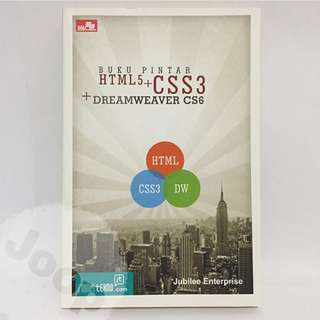 Buku Pintar HTML 5 + CSS 3 + Dreamweaver CS6