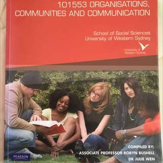 Organisations, Communities And Communication