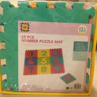 EVA Foam Number Puzzle Mat
