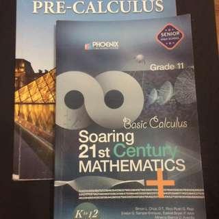 Pre-Calculus & Basic Calculus