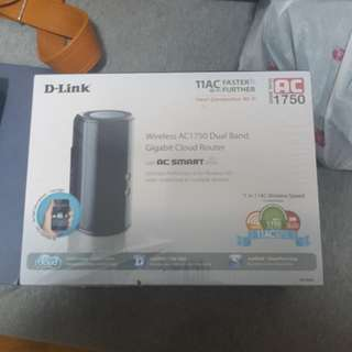 Bnib Dlink Dual Band Gigabit Cloud Router
