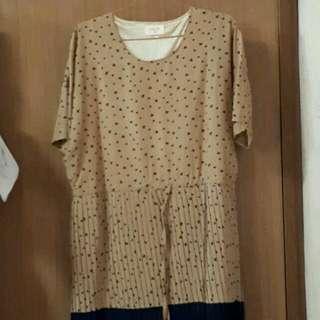 Gaudi Choco Semi Dress