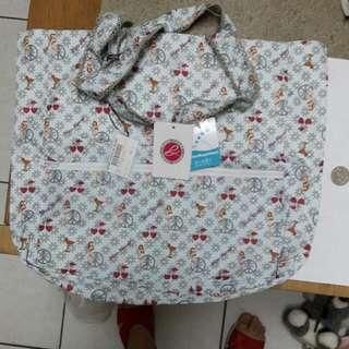 全新日本设计师款购物袋~极轻~造型很漂亮