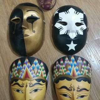 5 Artistic Masks (3 from Indonesia)