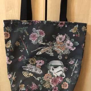 美國自家品牌設計tote Bag (Star Wars)包順豐