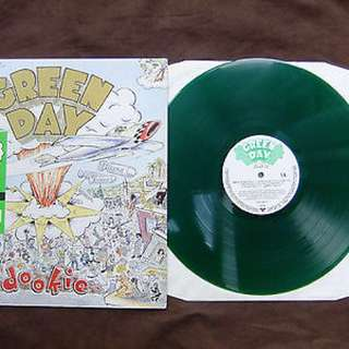 Green Day - Dookie. Green Vinyl Lp. New