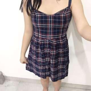 Abercrombie & Fitch Tartan Dress