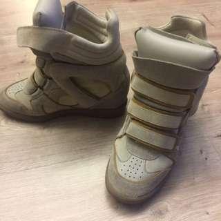 🚚 ISABEL MARANT 球鞋 /正品 37號